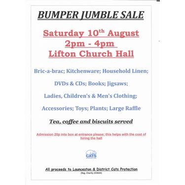 Bumper Jumble Sale