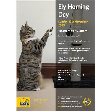 Ely Homing Day 17th November 2019