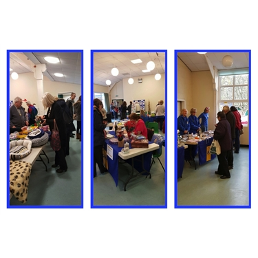 Great support for our Christmas Fayre