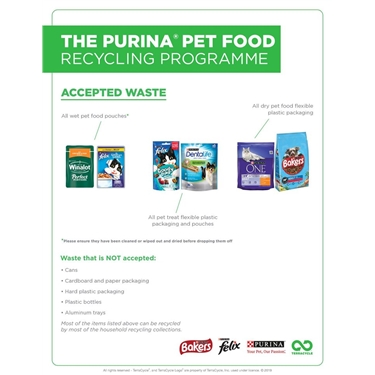 Terracycle / Purina Pet Food Recycling Programme