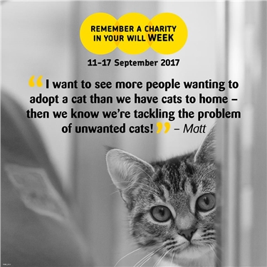Remember a charity week 11th – 17th September 2017