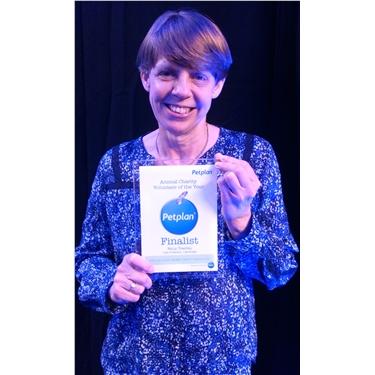 Coordinator Niccy a finalist in 2016 Petplan awards