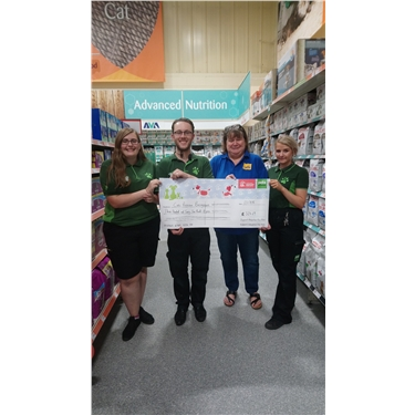 Thanks to Pets at Home Basingstoke and Support Adoption for Pets