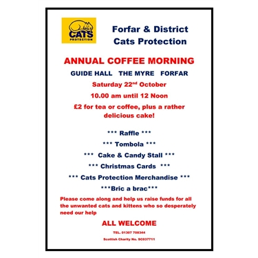 Annual Coffee Morning