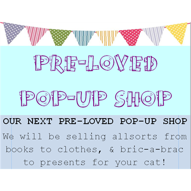 Our very first Pop up shop!