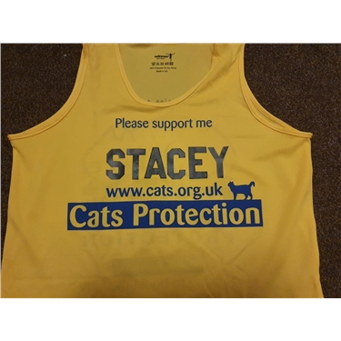 Rothwell Stacy running Half Marathon for Cats Protection