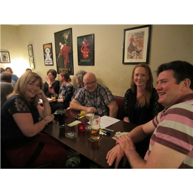 Quiz night raises £400 for branch