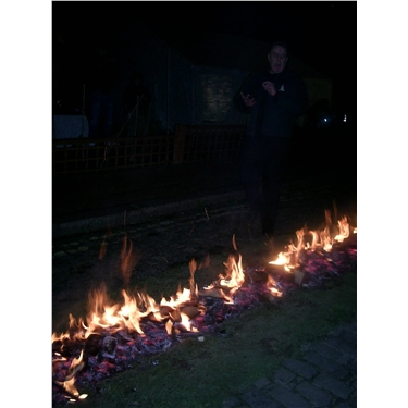 Fire walking - Helen Fisher