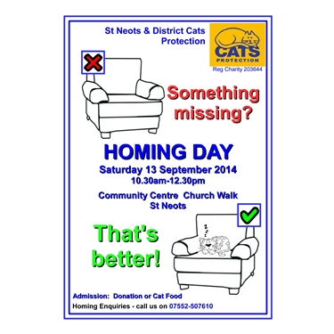 Next Homing Day Announced