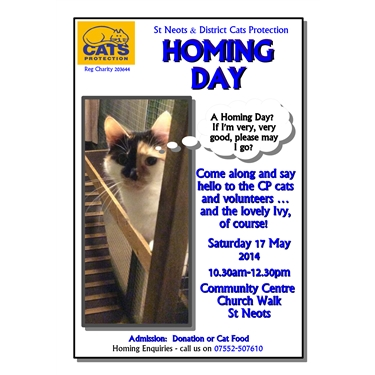 MAY HOMING DAY