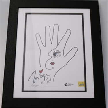 Film and TV stars draw Celebrity Paws for the cause