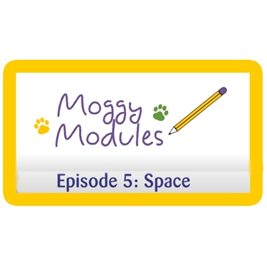 Moggy Modules for children - Episode 5 about space in the family home.