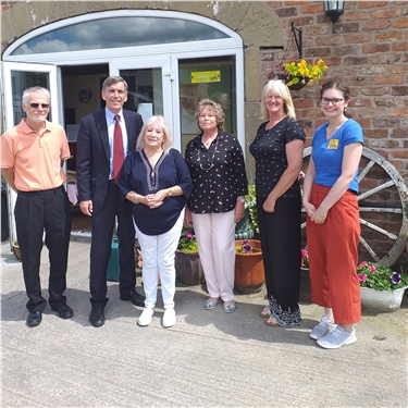 Animal Welfare Minister David Rutley visits Cats Protection
