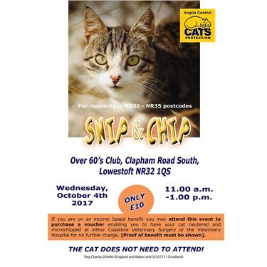 Snip & Chip Event