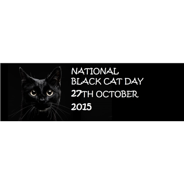 **NATIONAL BLACK CAT DAY 2015**
