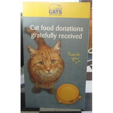 CP Charity food bin in Asda