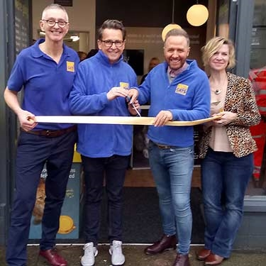 Gogglebox stars open new Brighton shop