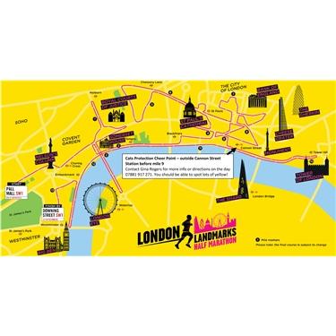 London Heritage Half Marathon fund raising