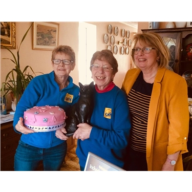 Cats Protection Volunteer Celebrating An Amazing 25 Years!