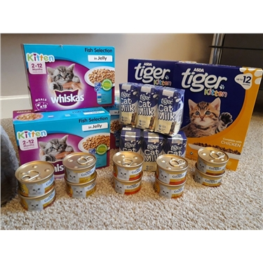 Cat Food Donation