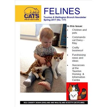 Felines Spring 2017 newsletter