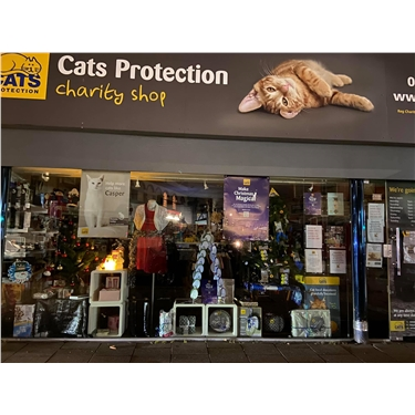 Southend Cats Protection shop - closed for the time being