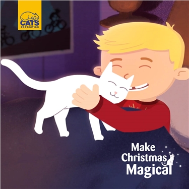 Make Christmas Magical for Rescue Cats