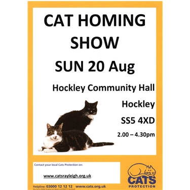 Our Homing Show - next Sunday, 20 August, in Hockley