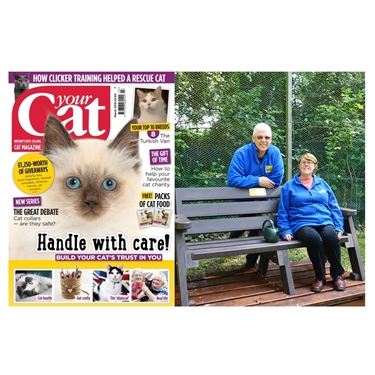 Belfast Green Fingered Volunteers featured in Your Cat Magazine