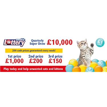 Join the cat lottery today and support our branch