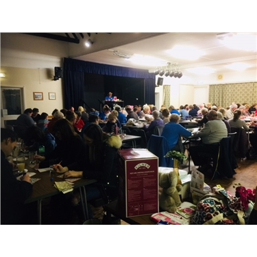 Annual Bingo night huge success!