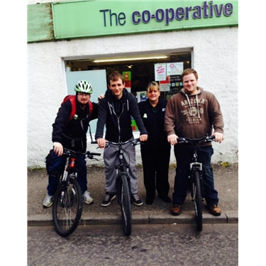 Netherley Co-op sponsored Bike Ride