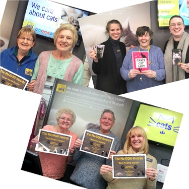 New Year Me-Wow Honours for the dedicated Erdington cat shop volunteers ...