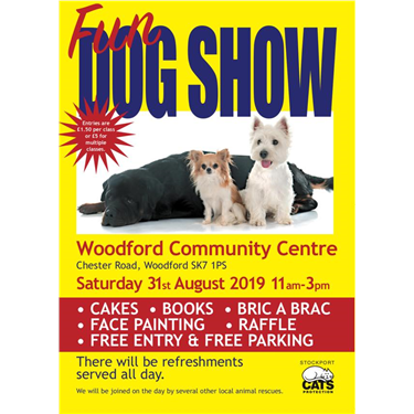 Stockport Cats Protection Annual Fun Dog Show - Saturday 31st August
