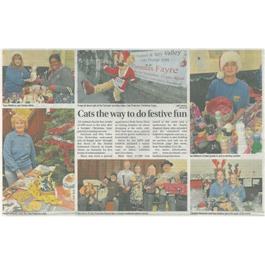 Christmas Fayre Featured in Aldershot News & Mail