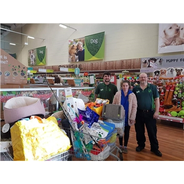 Pets at Home Shopping Spree
