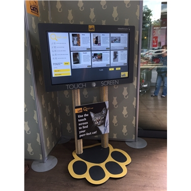 Touch screen homing hubs in garden centres - The rollout begins!