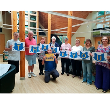 Cats Protection celebrates £1m boost