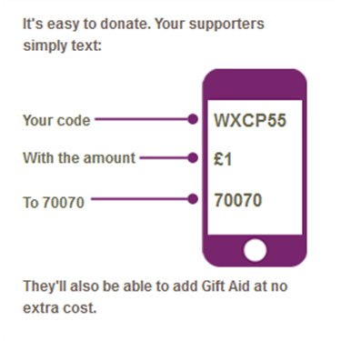JustTextGiving
