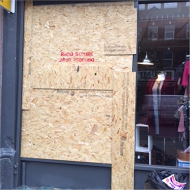 Support us! Break-in at our new Cricklewood shop