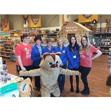 Pets at Home Fundraising event