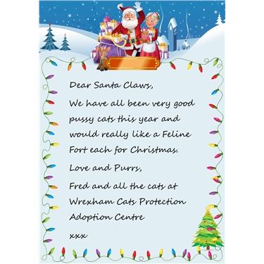 Dear Santa Claws