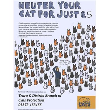 Cat Neutering report 2017 - 18