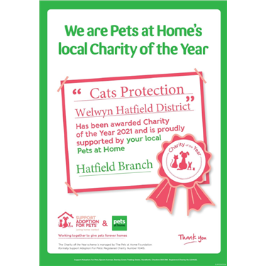 Pets at Home Local Charity of the Year 2021