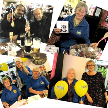 Christmas spirit at pub quiz raises £350 for cats ...
