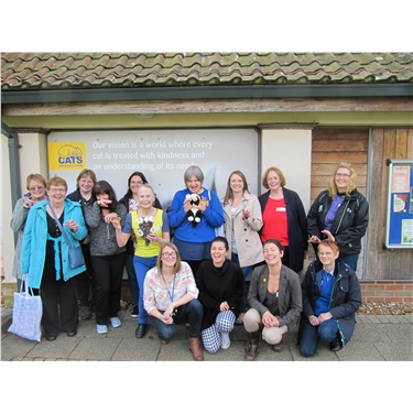 Education speakers learn a lot on visit to National Cat Centre