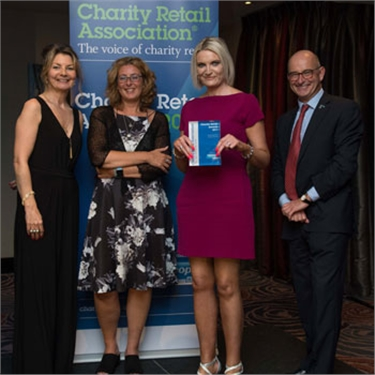 Cats Protection are big winners at the tenth annual Charity Retail Awards