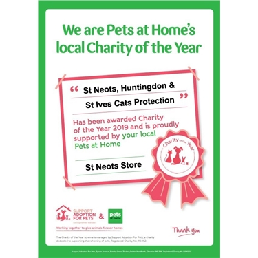 Pets at Home Charity of the Year