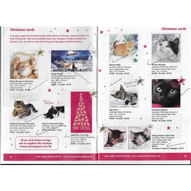 Cats Protection Christmas Cards