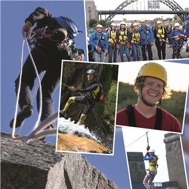 100ft quarry abseil, in aid of Cats Protection branches and centres
